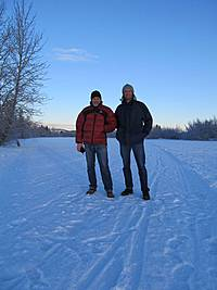 Hubert und Fritz in Whitehorse